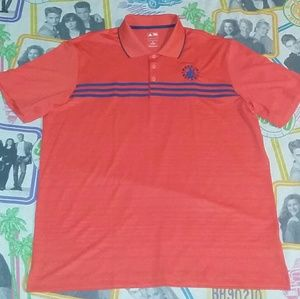 Made in Detroit x Adidas Golf Jersy Polo Shirt